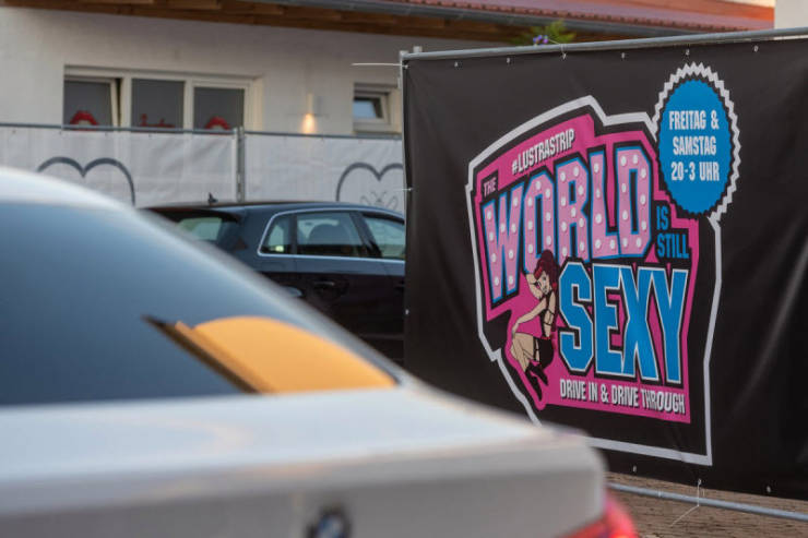 Germany Adapts To Quarantine With A Drive-Through Strip Club