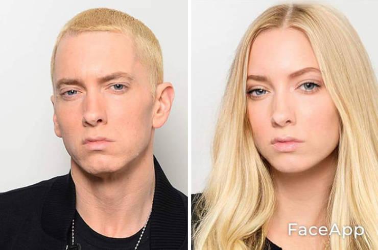 Someone Decided To Gender-Swap Celebrity Photos… (30 pics)