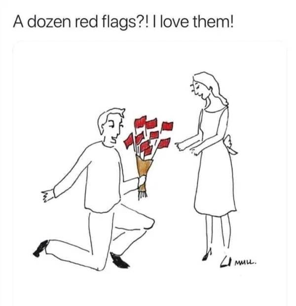 People Are Willing To Ignore Tons Of Red Flags Just Because Sex Is Great…