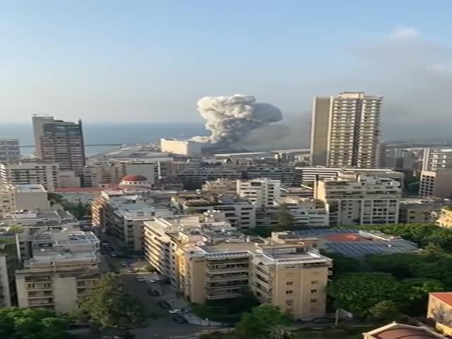 Beirut Port Explosion. Hiroshima Again?