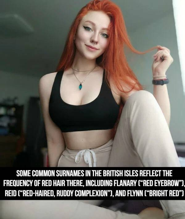 Flaming Facts About Redheads
