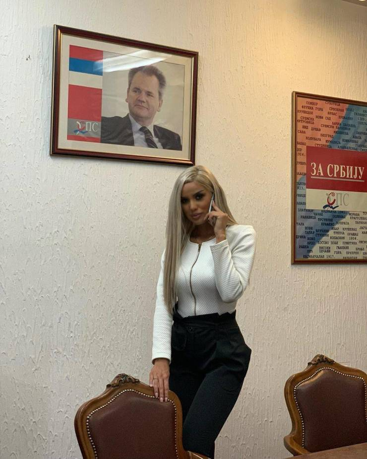 This Is Ana Grozdanovic, New Serbian Parliamentary…