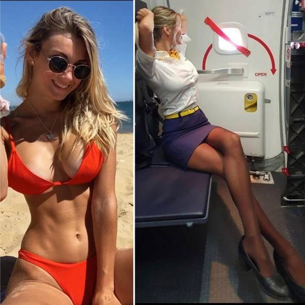 Ready To Fly With These Sexy Flight Attendants?