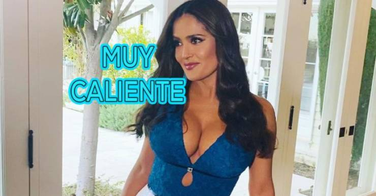 Salma Hayek Is 54, But She's Still Extremely Hot!
