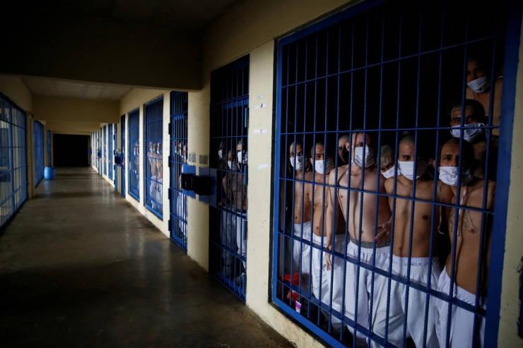 Take A Sneak Peek Inside Salvador's Overcrowded Prisons…