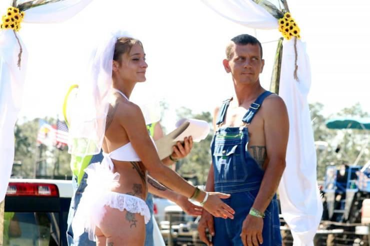 The Most Redneck Wedding Ever…