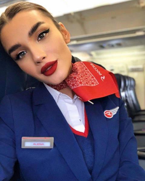 Meet Russia's Most Beautiful Stewardess – Alena Glukhova