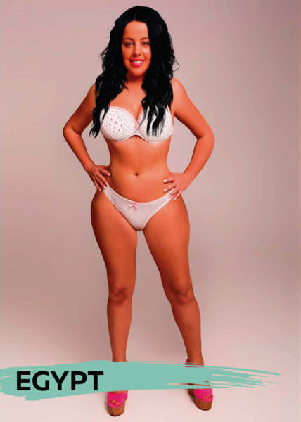 How Ideal Woman Body Would Look In Different Countries