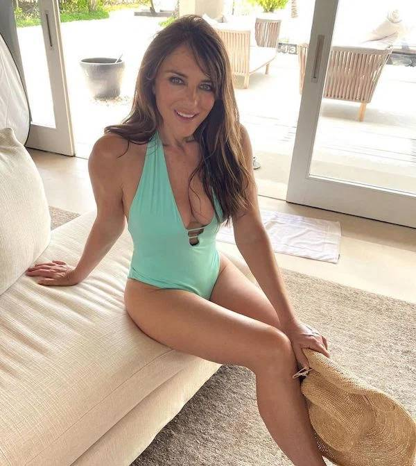 Red Hot Facts About Elizabeth Hurley