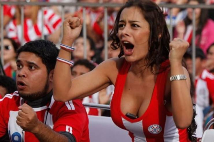 These Football Fans Are Spicy!