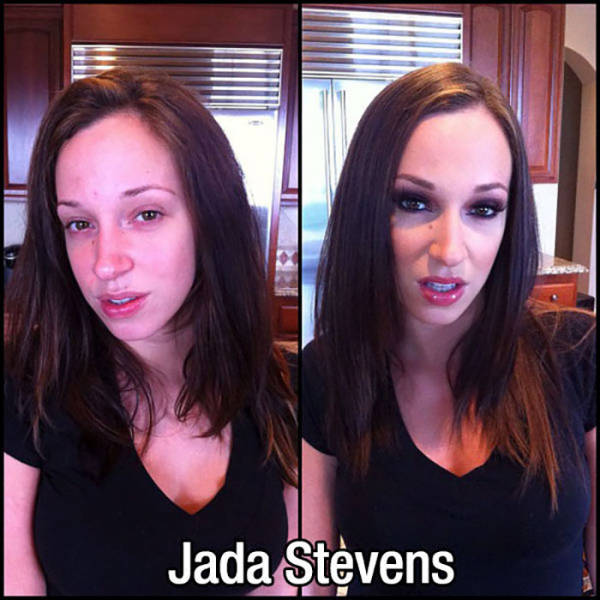 Adult Movie Stars With And Without Makeup