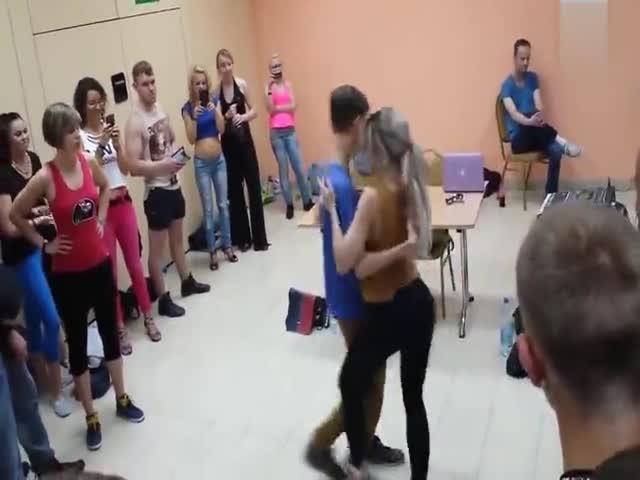 That's A Very Sensual Dance!