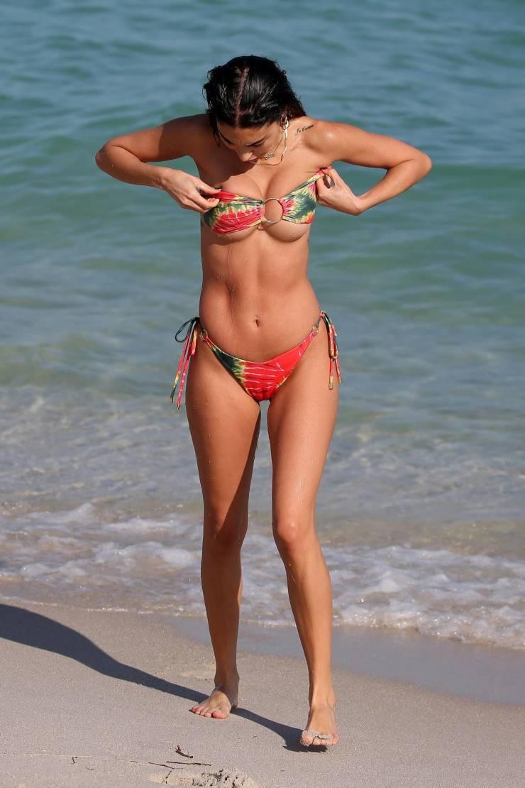 Chantel Jeffries On A Beach
