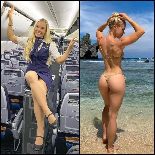Fly With These Beautiful Flight Attendants!