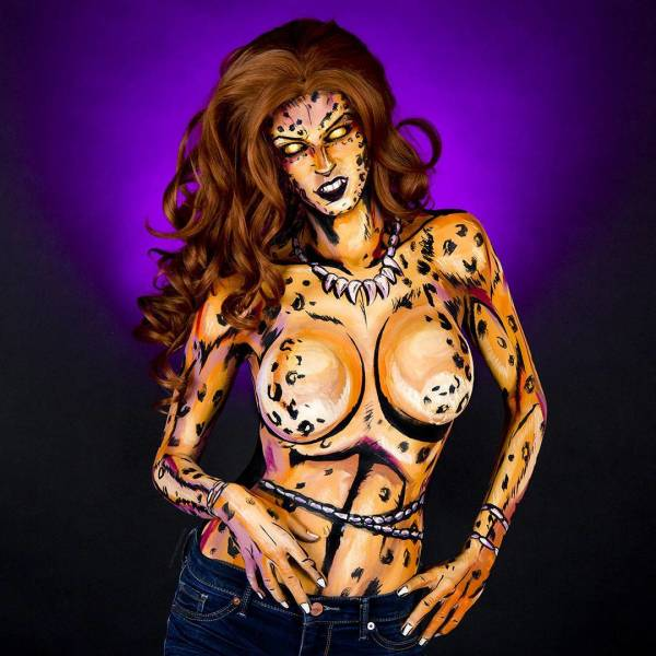 Kay Pike Knows Everything About Cool Body Painting!