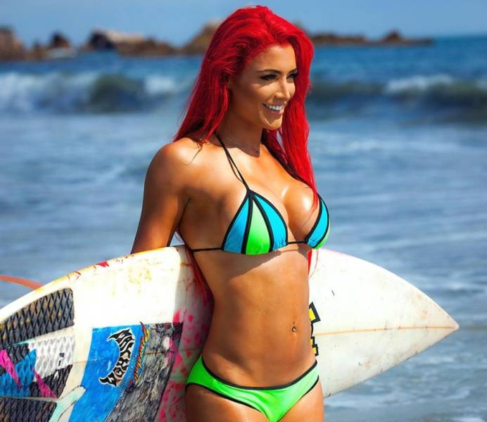 Dive Into The Colorful World Of Eva Marie