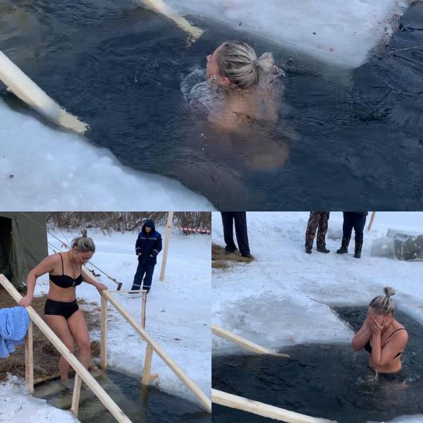 Some Rather Interesting Photos From The Holiday Of Epiphany