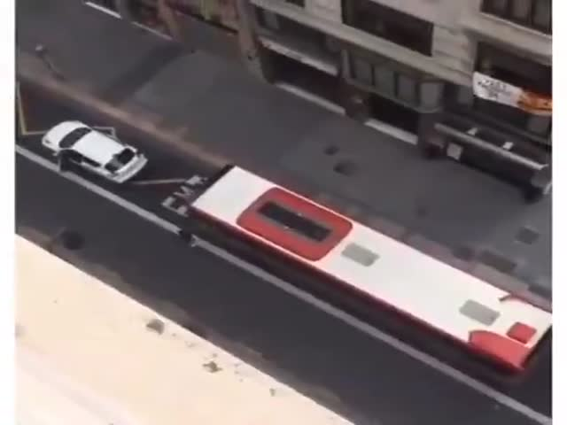 Oh, It's A Bus Lane? I Don't Care!