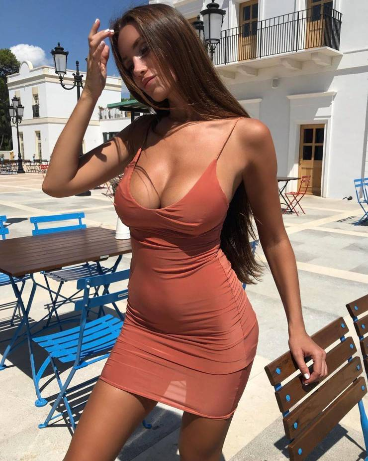 These Dresses Don't Hide ANYTHING!