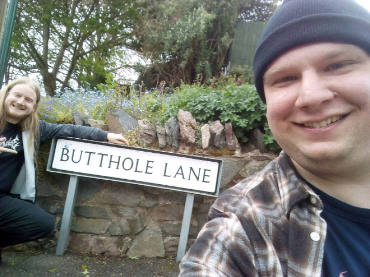 Two Brothers And The Naughtiest Places In The UK