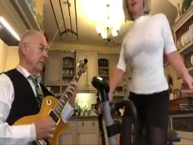 Robert Fripp And His Wife