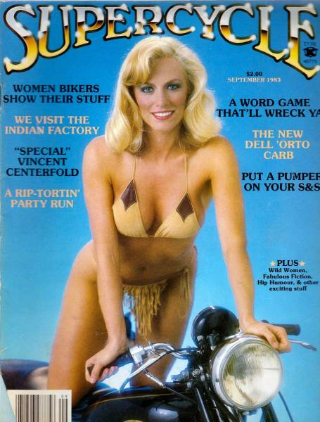 Bikes, Girls, And Beer: Biker Magazine Covers From The 80s