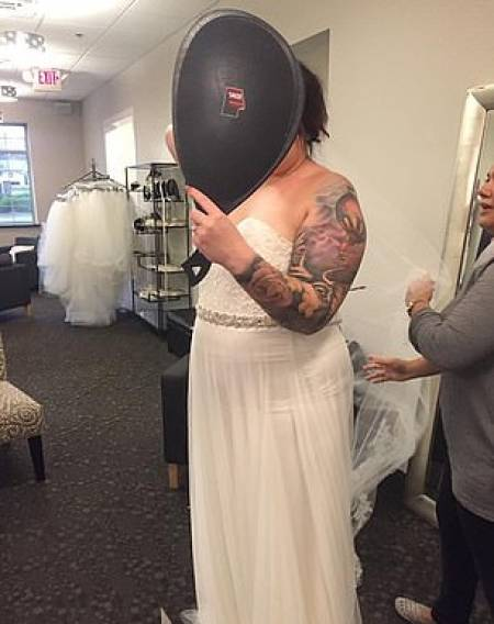 Woman Who Was Too Big To Fit Into Her Dream Wedding Dress Loses 38 Kilos To Be Ready For The Wedding Itself