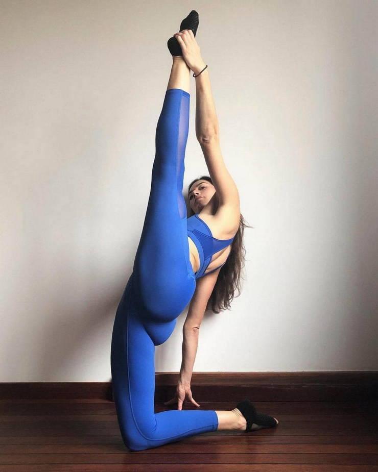 That Flexibility!