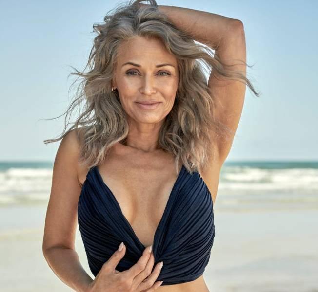 Kathy Jacobs In A Swimwear Photoshoot