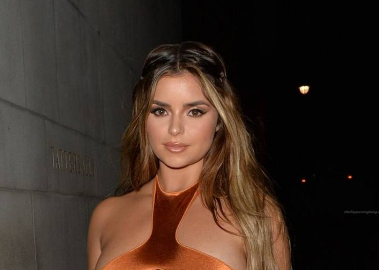 Demi Rose In A VERY Revealing Outfit