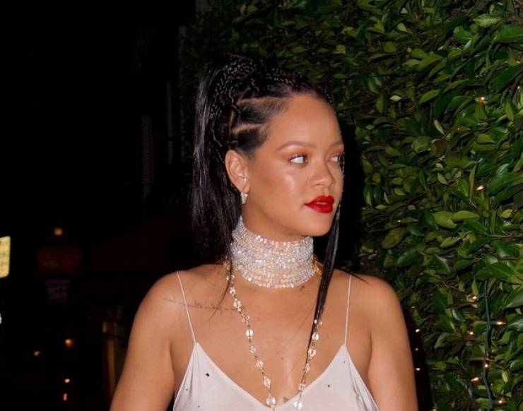 Rihanna In A Revealing Outfit
