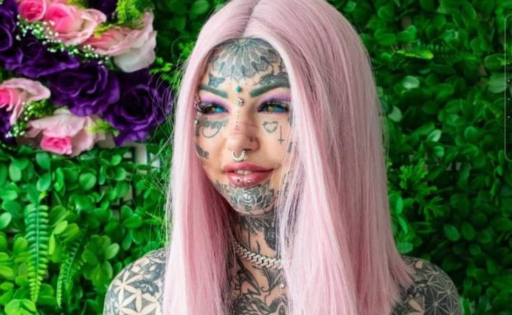 Tattoo Model Complained About Receiving Too Many Negative Comments