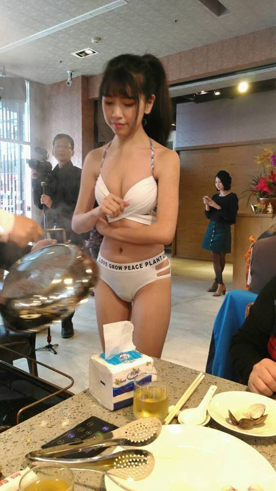This New Taiwan Restaurant Has Found The Hottest Marketing Solution Possible