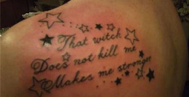 These Tattoos Are So Bad It's Impossible To Contain Laughter