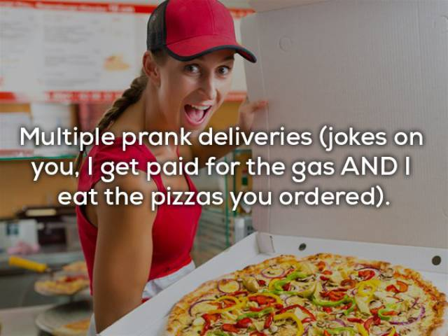 Pizza Delivery Girls Have Very Strange Lives…