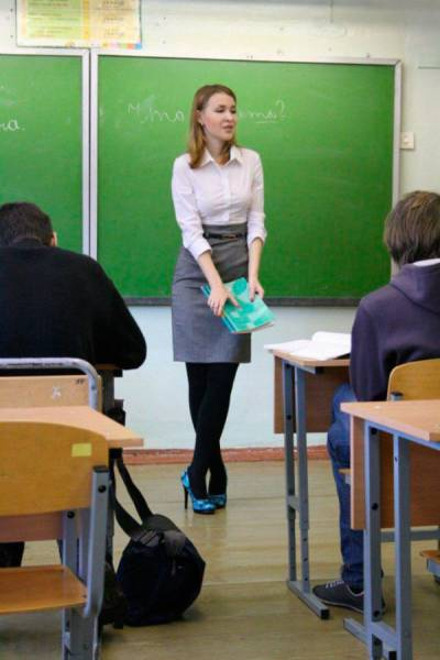 In Russia, With Such Teachers You Would Go To School Even After You've Already Finished It