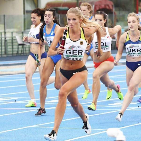 This German Athlete Girl Will Easily Run Away With Your Heart