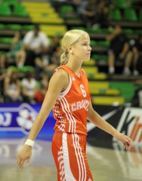 They Have Some Beautiful Basketball Players In Croatia. Anthony Misura Is One Of Them