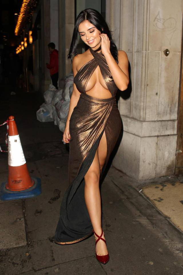 Demi Rose Shows Quite A Lot On Camera