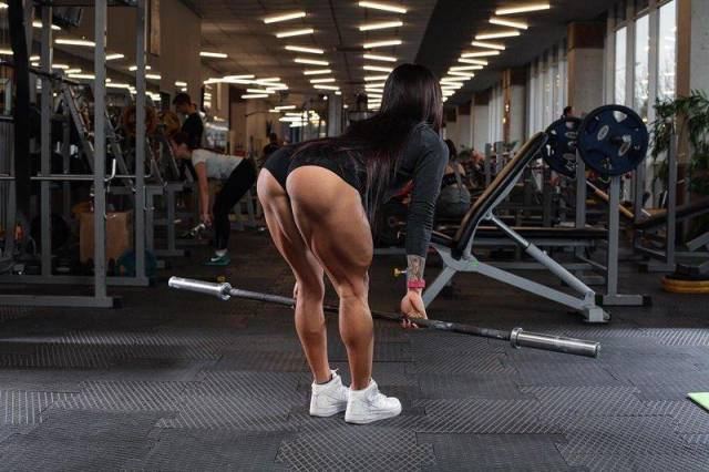 She Just Couldn't Stop Working Those Legs Out