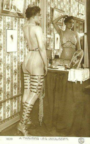 When Men First Ventured Into The World Of Striptease