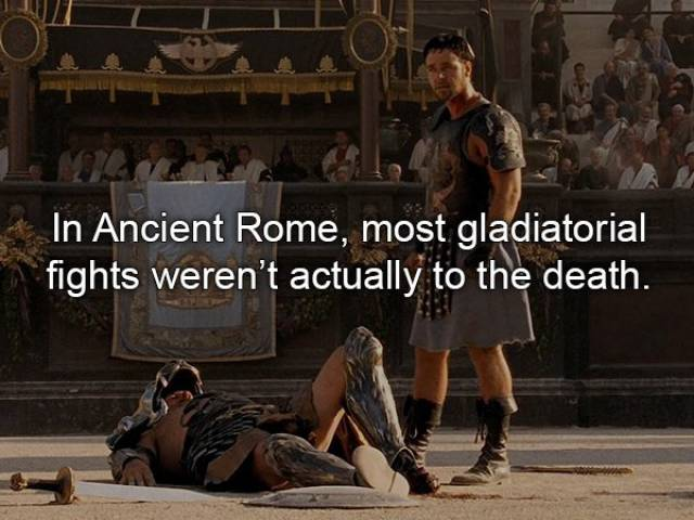 "Merciless Facts About ""Gladiator"""