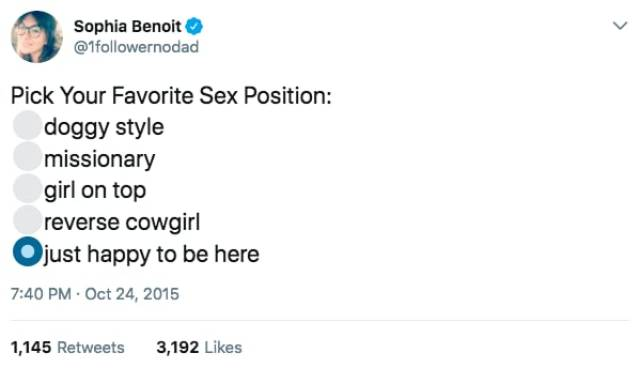 A New Portion Of Sex Jokes Is Here