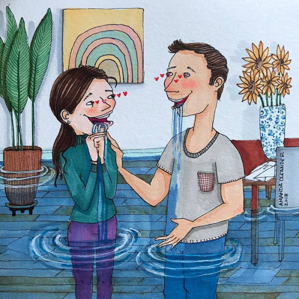 Artist Reveals The Unspoken Side Of Every Long Term Relationship