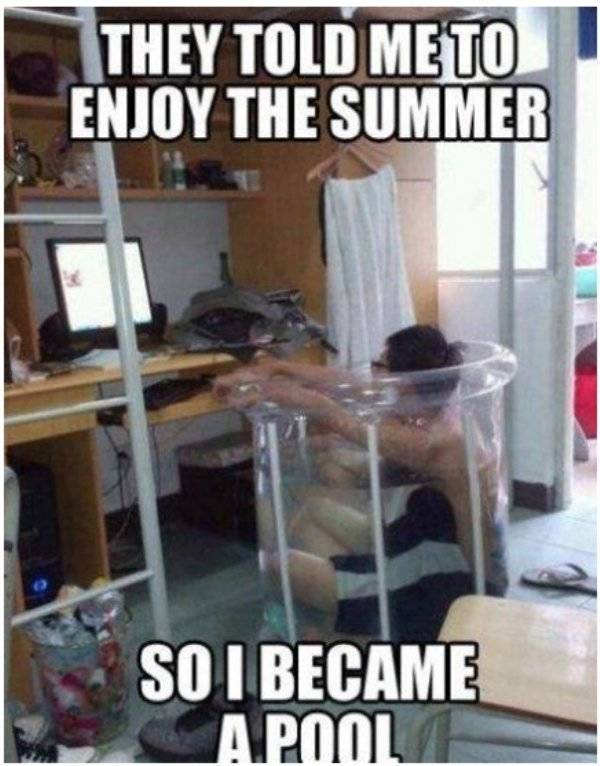 Summer Memes Are Pretty Hot!