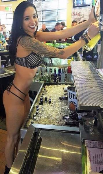 Hot Bartenders With Very Hot Drinks!