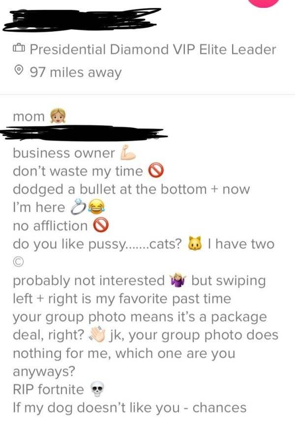 Tinder Is Not Where You Come For Shame
