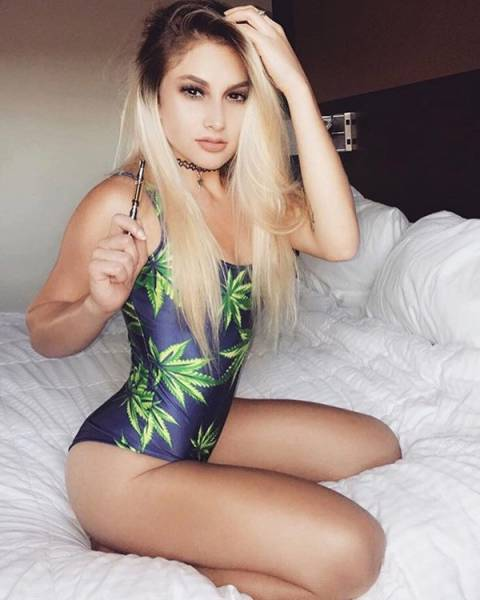 Weed Is Now Legal In Canada And These Girls Are LITERALLY Smoking Hot!