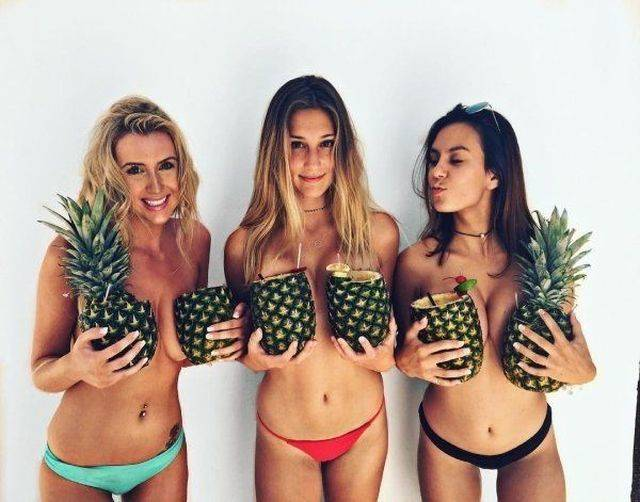 Girls Love Pineapples And We Love Girls!