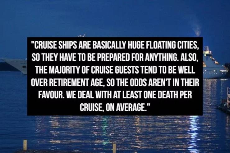 Cruise Ship Workers Have A Lot Of Things To Confess About
